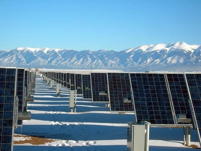 Aurinkosähköä aurinkovoimalasta
